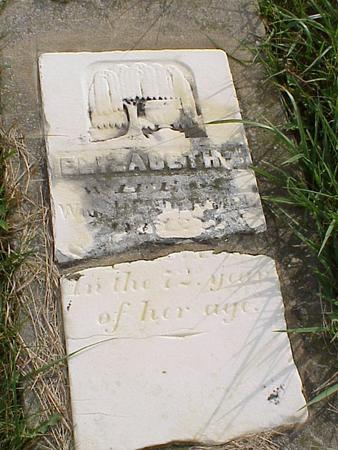HENDERSON, MARY ELIZABETH - Davis County, Iowa | MARY ELIZABETH HENDERSON