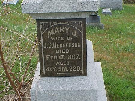 HENDERSON, MARY JANE - Davis County, Iowa | MARY JANE HENDERSON