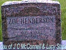 MCCONNELL HENDERSON, ZOE - Davis County, Iowa | ZOE MCCONNELL HENDERSON