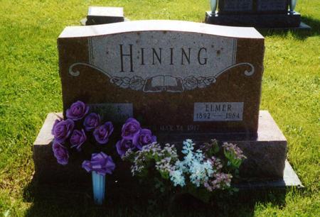 HINING, ELMER - Davis County, Iowa | ELMER HINING