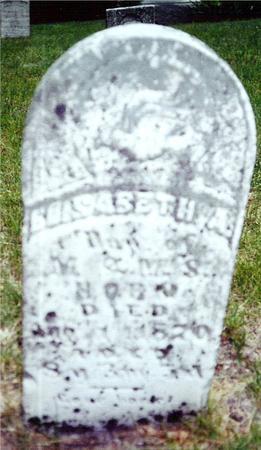 HORN, ELIZABETH A. - Davis County, Iowa | ELIZABETH A. HORN