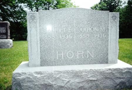 HORN, HARRIET - Davis County, Iowa | HARRIET HORN