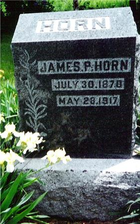 HORN, JAMES P. - Davis County, Iowa | JAMES P. HORN