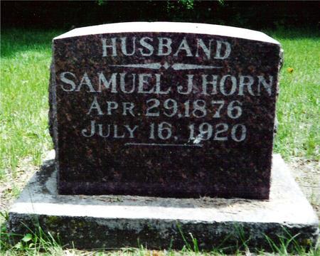 HORN, SAMUEL J. - Davis County, Iowa | SAMUEL J. HORN
