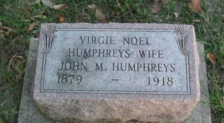 HUMPHREYS, VIRGIE NOEL - Davis County, Iowa | VIRGIE NOEL HUMPHREYS