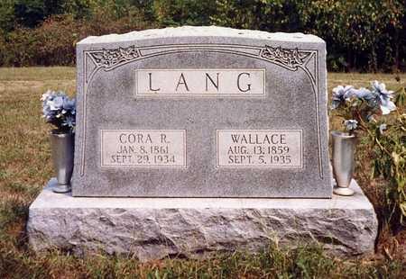 LANG, JOSIAH WALLACE - Davis County, Iowa | JOSIAH WALLACE LANG