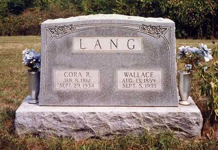 LANG, RACHEL CORA - Davis County, Iowa | RACHEL CORA LANG