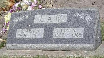 LAW, CLARA - Davis County, Iowa | CLARA LAW