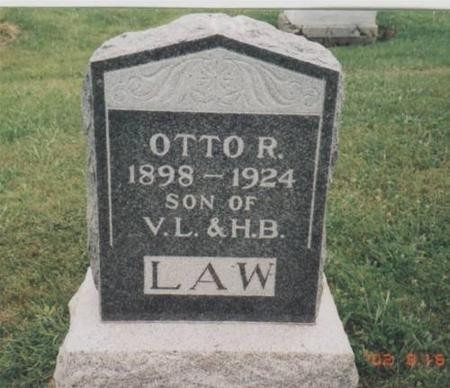 LAW, OTTO R. - Davis County, Iowa | OTTO R. LAW