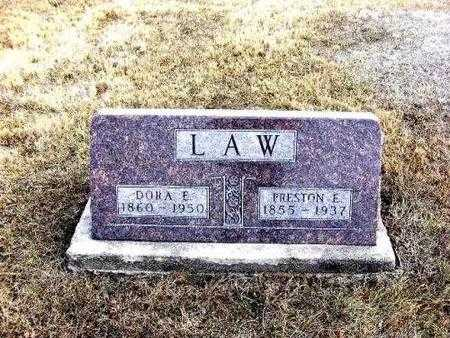LAW, PRESTON E. AND DORA E. - Davis County, Iowa | PRESTON E. AND DORA E. LAW