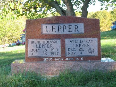 LEPPER, WILLIS RAY - Davis County, Iowa | WILLIS RAY LEPPER