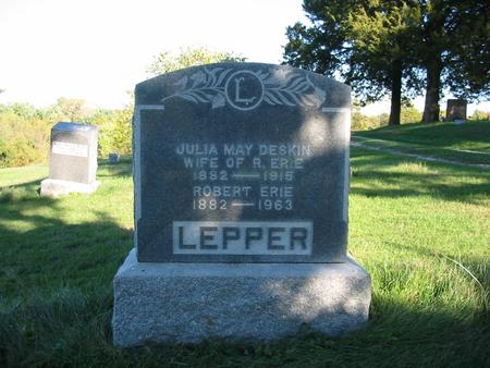 LEPPER, ROBERT ERIE - Davis County, Iowa | ROBERT ERIE LEPPER