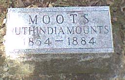 MOOTS, RUTHINDIA - Davis County, Iowa | RUTHINDIA MOOTS