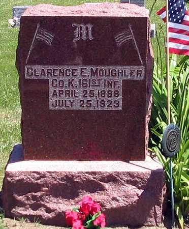 MOUGHLER, CLARENCE E - Davis County, Iowa | CLARENCE E MOUGHLER