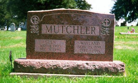 MUTCHLER, WAYLAND - Davis County, Iowa | WAYLAND MUTCHLER