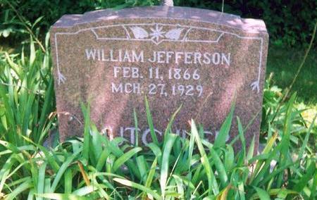 MUTCHLER, WILLAM JEFFERSON - Davis County, Iowa | WILLAM JEFFERSON MUTCHLER