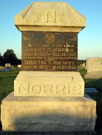 NORRIS, JAMES & BRIETTA - Davis County, Iowa | JAMES & BRIETTA NORRIS