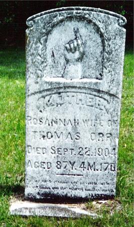 ORR, ROSANNAH - Davis County, Iowa | ROSANNAH ORR