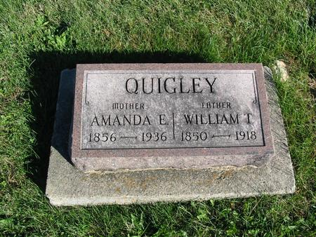 QUIGLEY, WILLIAM T. - Davis County, Iowa | WILLIAM T. QUIGLEY