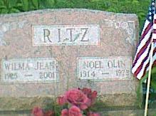 RITZ, WILMA JEAN - Davis County, Iowa | WILMA JEAN RITZ