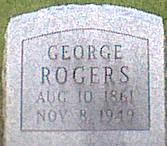 ROGERS, GEORGE - Davis County, Iowa | GEORGE ROGERS