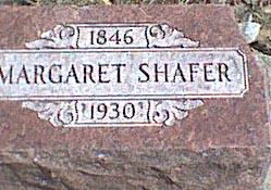 SHAFER, MARGARET - Davis County, Iowa | MARGARET SHAFER