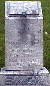 SNOW, MARY - Davis County, Iowa | MARY SNOW