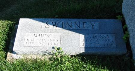 SWINNEY, MAUDE - Davis County, Iowa | MAUDE SWINNEY