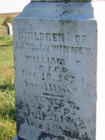 SWINNEY, WILLIAM D. - Davis County, Iowa | WILLIAM D. SWINNEY