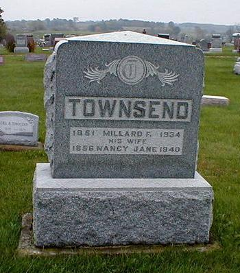 TOWNSEND, MILLARD F. & NANCY CAMPBELL - Davis County, Iowa | MILLARD F. & NANCY CAMPBELL TOWNSEND