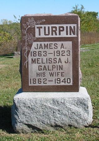 GALPIN TURPIN, MELISSA J. - Davis County, Iowa | MELISSA J. GALPIN TURPIN