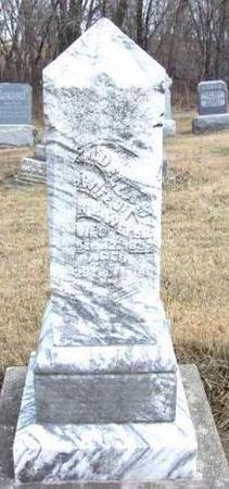 WEYER, ADELA M. DUNSHEE - Davis County, Iowa | ADELA M. DUNSHEE WEYER