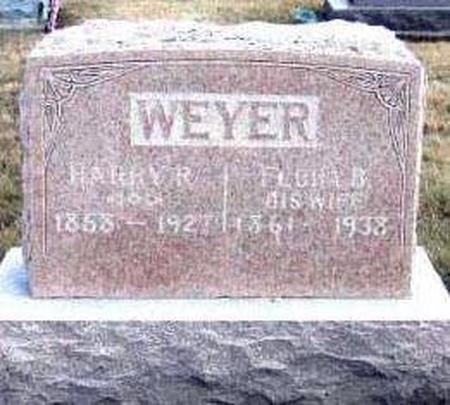WEYER, HARRY REESE AND FLORA BELLE LAW - Davis County, Iowa | HARRY REESE AND FLORA BELLE LAW WEYER