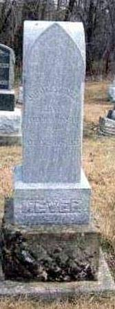 WEYER, JOHN A. - Davis County, Iowa | JOHN A. WEYER