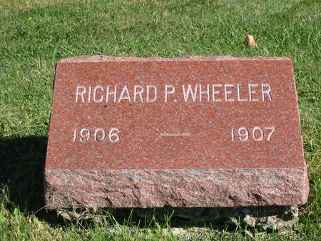WHEELER, RICHARD P. - Davis County, Iowa | RICHARD P. WHEELER