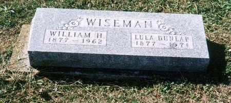 WISEMAN, WILLIAM H - Davis County, Iowa | WILLIAM H WISEMAN