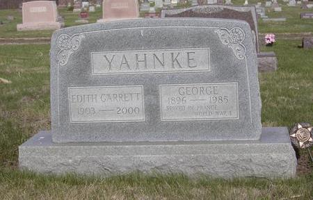 YAHNKE, GEORGE - Davis County, Iowa | GEORGE YAHNKE