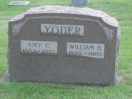 YODER, WILLIAM H - Davis County, Iowa | WILLIAM H YODER