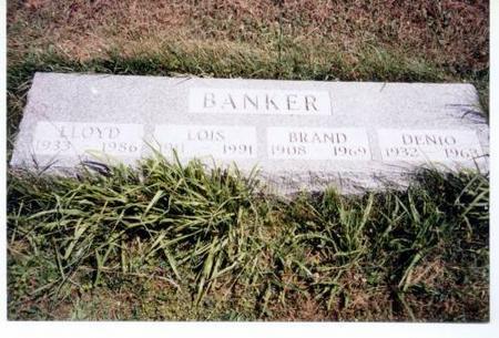 BANKER, LLOYD, LOIS, BRAND AND DENIO - Decatur County, Iowa | LLOYD, LOIS, BRAND AND DENIO BANKER