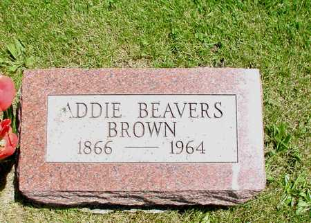 BEAVERS BROWN, ADDIE - Decatur County, Iowa | ADDIE BEAVERS BROWN