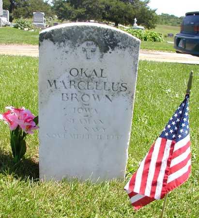 BROWN, OKAL - Decatur County, Iowa   OKAL BROWN