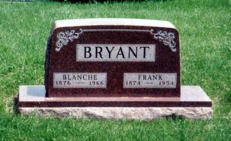 BRYANT, BLANCHE AND FRANK - Decatur County, Iowa | BLANCHE AND FRANK BRYANT