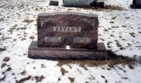 BRYANT, ZETTIE AND GEORGE L. - Decatur County, Iowa | ZETTIE AND GEORGE L. BRYANT