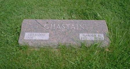 CHASTAIN, HAROLD & GERALDINE - Decatur County, Iowa | HAROLD & GERALDINE CHASTAIN