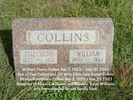 WILLIAMS COLLINS, ELIZEBETH - Decatur County, Iowa | ELIZEBETH WILLIAMS COLLINS