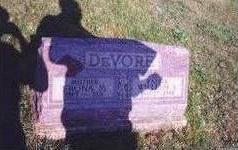 PALMER DEVORE, SAPHRONA MAE - Decatur County, Iowa | SAPHRONA MAE PALMER DEVORE