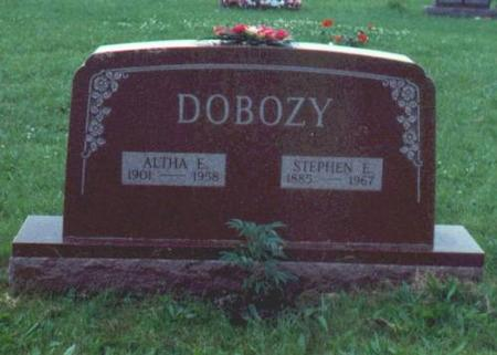 DOBOZY, STEPHEN AND ALTHA - Decatur County, Iowa | STEPHEN AND ALTHA DOBOZY