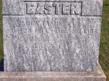 EASTER, BENJAMIN J - Decatur County, Iowa | BENJAMIN J EASTER