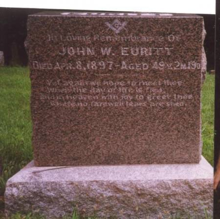 EURITT, JOHN W. - Decatur County, Iowa | JOHN W. EURITT