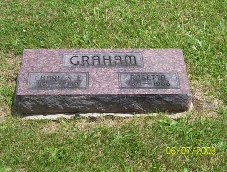GRANDSTAFF GRAHAM, ROSETTA - Decatur County, Iowa | ROSETTA GRANDSTAFF GRAHAM